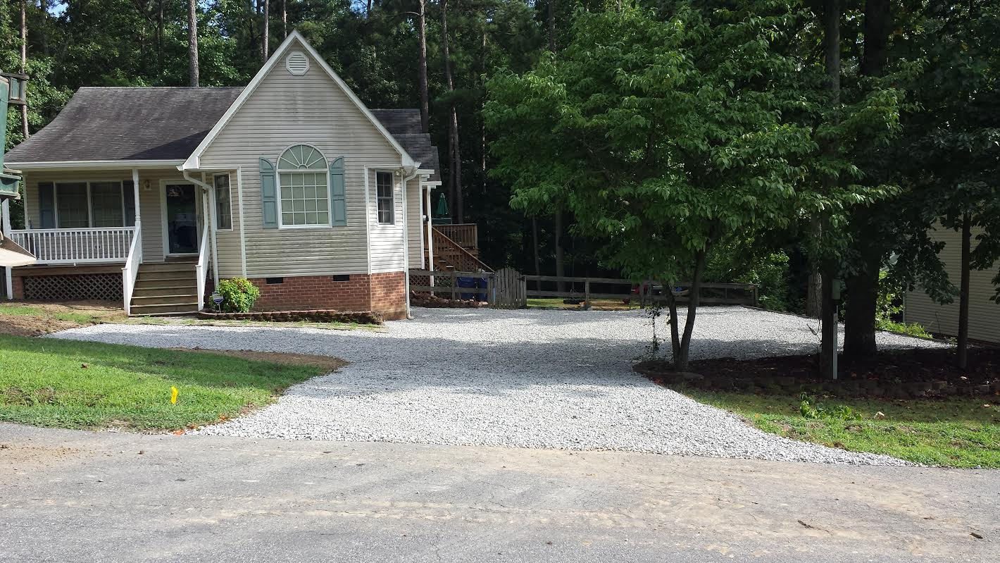 Gravel Driveway Construction Richmond Va Spinner